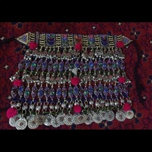 Jewelry - Vintage Bohemian Afghan Necklace